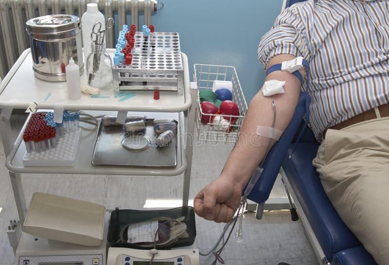 δωρεά αίματος 8 νέα στοκ εικόνα