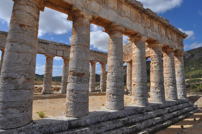 δωρικός ναός segesta στοκ εικόνες με δικαίωμα ελεύθερης χρήσης