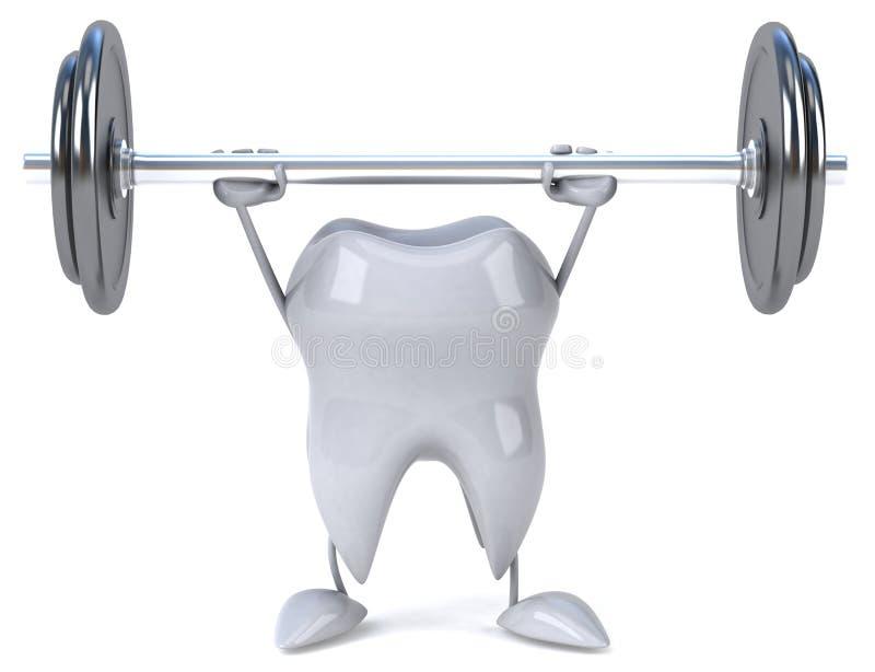 δόντι διανυσματική απεικόνιση