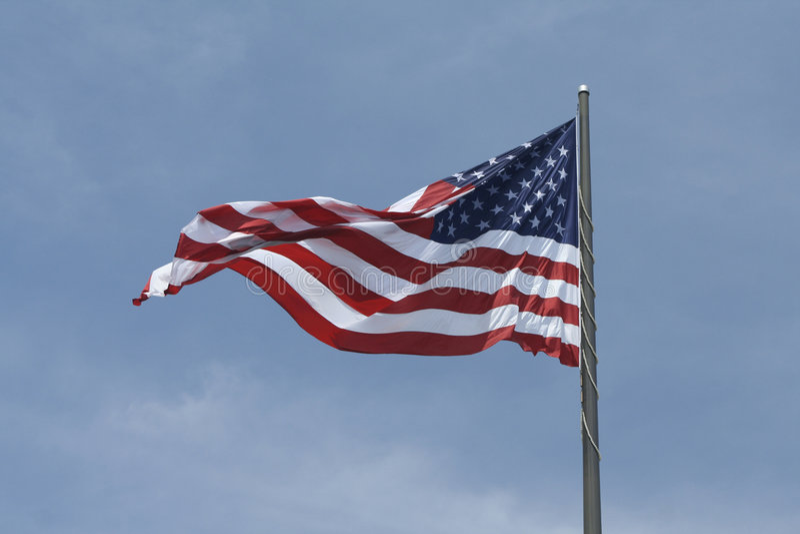 δόξα αμερικανικών σημαιών παλαιά στοκ φωτογραφίες