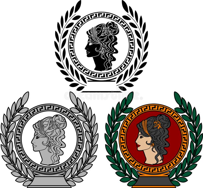 Δόξα της ρωμαϊκής γυναίκας απεικόνιση αποθεμάτων