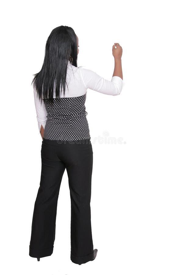 δόσιμο της γυναίκας παρουσίασης στοκ φωτογραφία με δικαίωμα ελεύθερης χρήσης