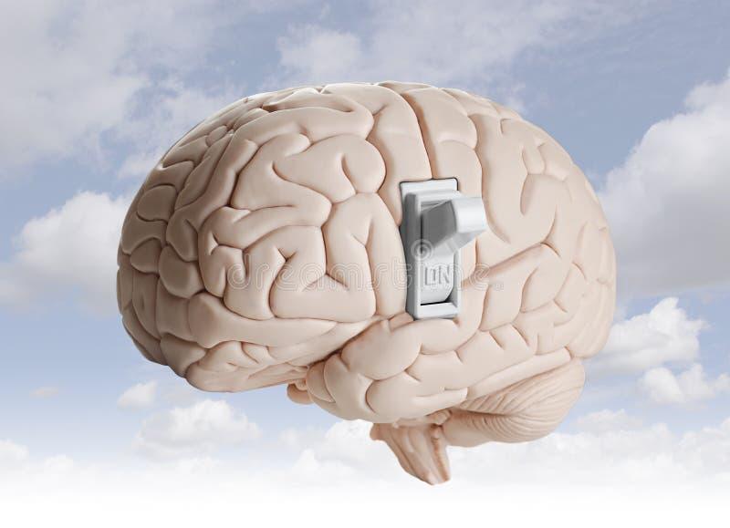 Δύναμη εγκεφάλου στοκ εικόνα