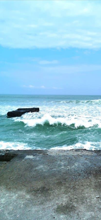 Δύναμη θάλασσας κυμάτων φύσης στοκ φωτογραφία με δικαίωμα ελεύθερης χρήσης