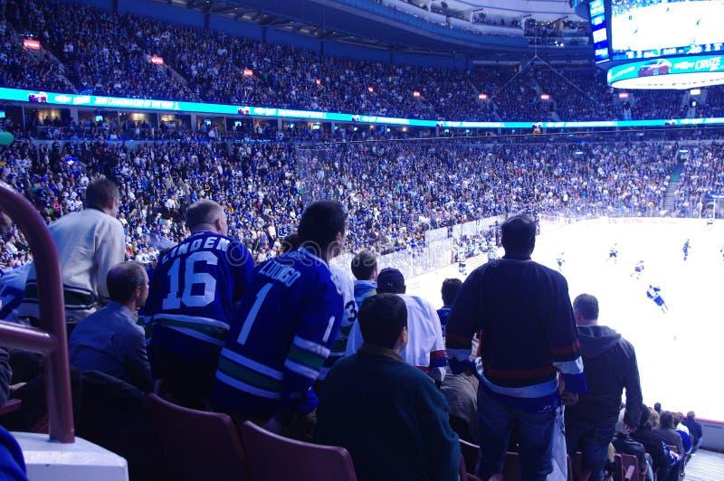 Δύναμη πετσετών στο NHL στοκ εικόνες