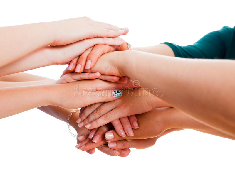 Δύναμη στην ενότητα στοκ εικόνες
