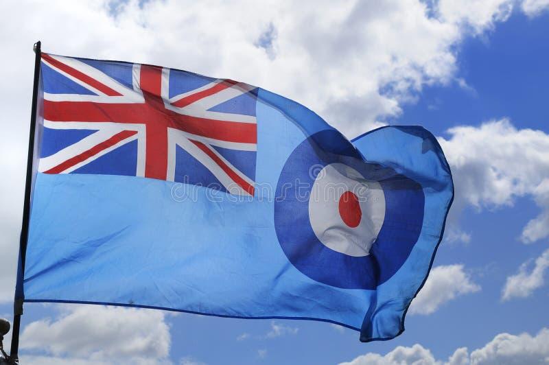 δύναμη raf σημαιών αέρα βασιλι& στοκ εικόνα
