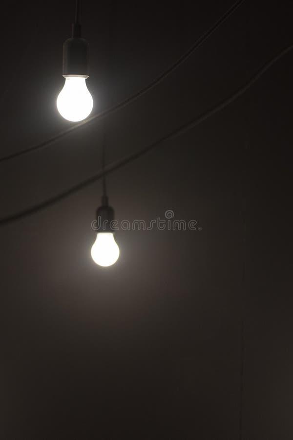 Δύο λάμπες φωτός στοκ φωτογραφία