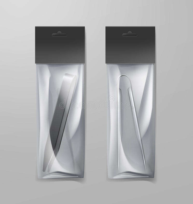 Δύο λαβίδες hookah απεικόνιση αποθεμάτων