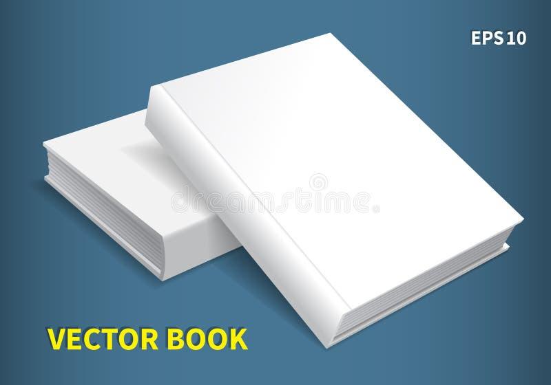 Δύο βιβλία hardcover απεικόνιση αποθεμάτων
