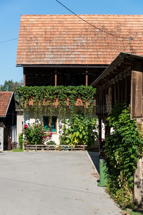 Δύο εβδομάδες στην Κροατία - Rastoke στοκ φωτογραφίες