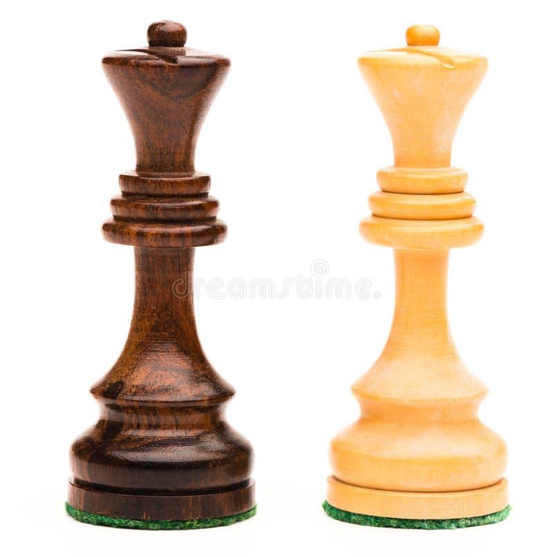 Δύο επίσκοποι σκακιού στοκ εικόνες με δικαίωμα ελεύθερης χρήσης