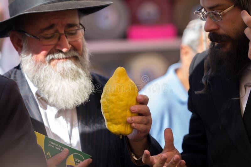 Δύο θρησκευτικοί Εβραίοι - ορθόδοξοι στοκ φωτογραφία με δικαίωμα ελεύθερης χρήσης