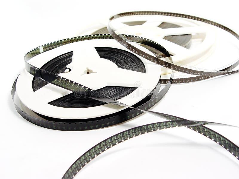 Δύο παλαιά εξέλικτρα ταινιών στοκ φωτογραφία