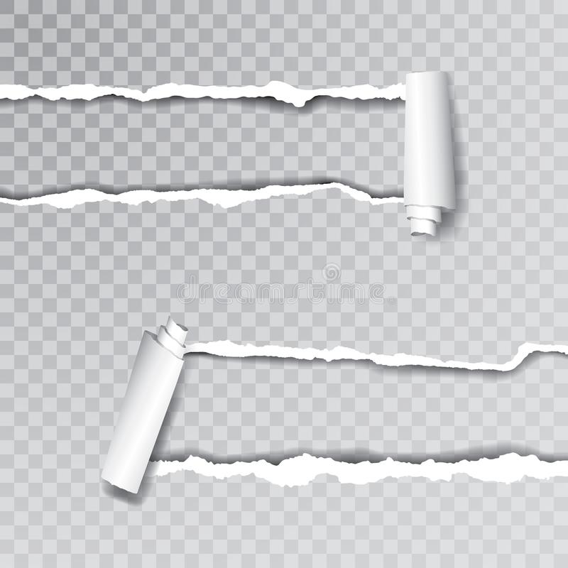 Δύο σχισμένος ρόλος απεικόνιση αποθεμάτων