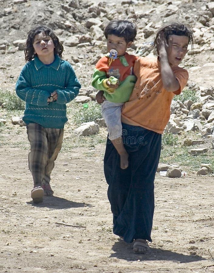 Δύο τουρκικά παιδιά στοκ εικόνα