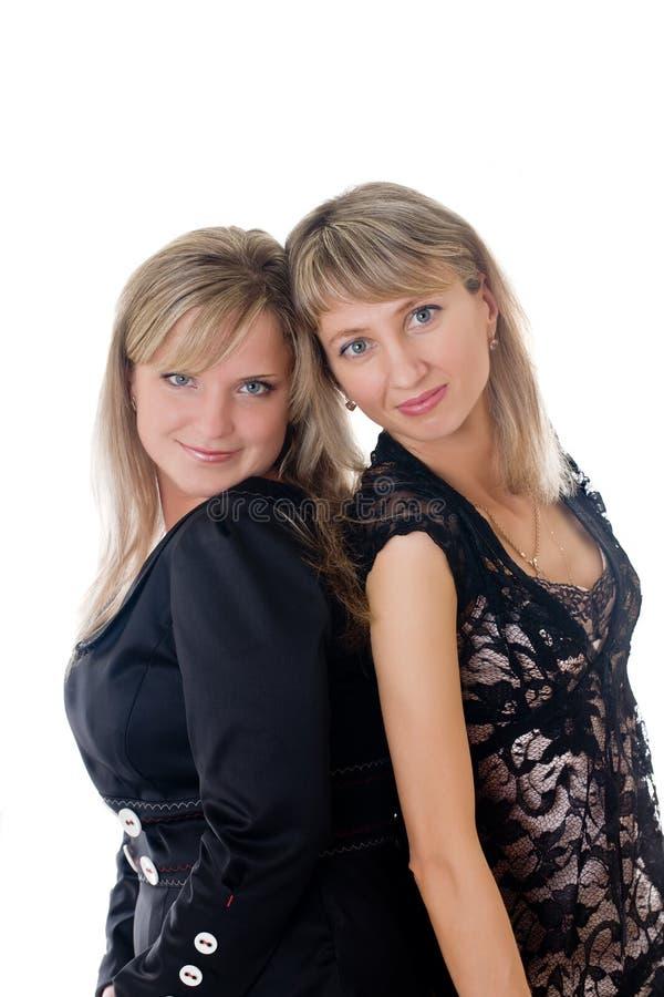 Δύο blondes στοκ εικόνες