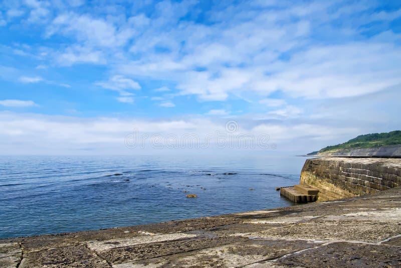 Δύση από το Cobb - το Lyme REGIS στοκ φωτογραφία με δικαίωμα ελεύθερης χρήσης