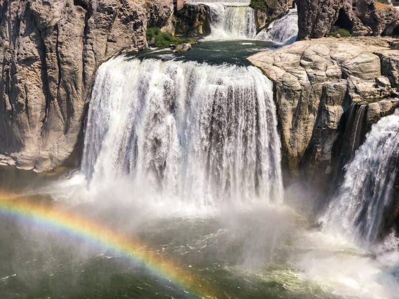 Δύση πτώσεων Shoshone στοκ φωτογραφία με δικαίωμα ελεύθερης χρήσης
