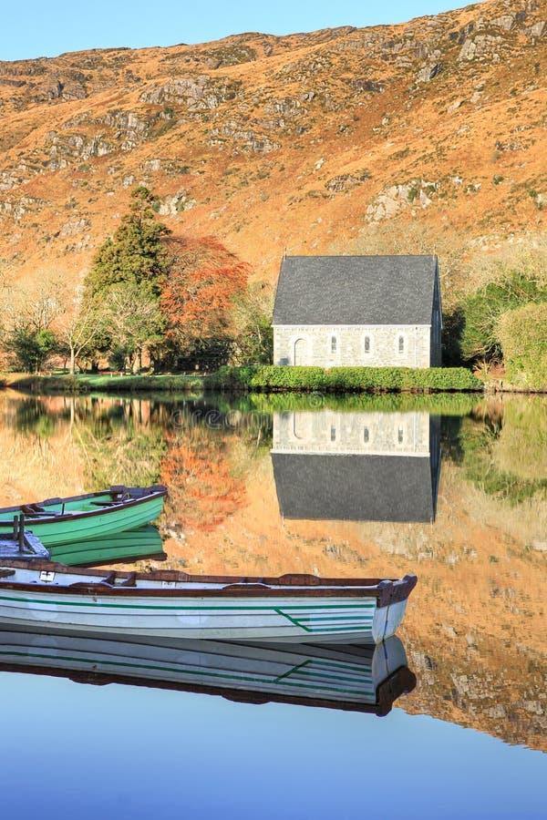 δύση της Ιρλανδίας φελλού barra gougane στοκ φωτογραφίες με δικαίωμα ελεύθερης χρήσης