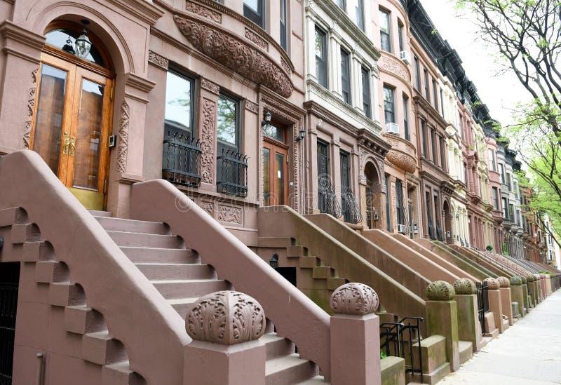 Δύση Harlem, πόλη της Νέας Υόρκης στοκ φωτογραφία