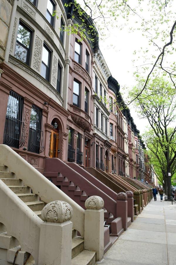 Δύση Harlem, πόλη της Νέας Υόρκης στοκ εικόνα με δικαίωμα ελεύθερης χρήσης