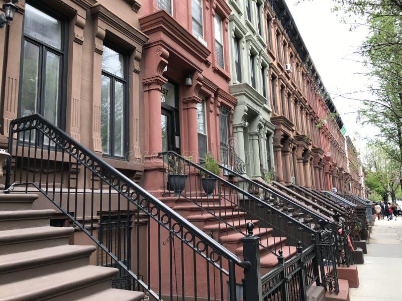 Δύση Harlem, πόλη της Νέας Υόρκης στοκ εικόνες