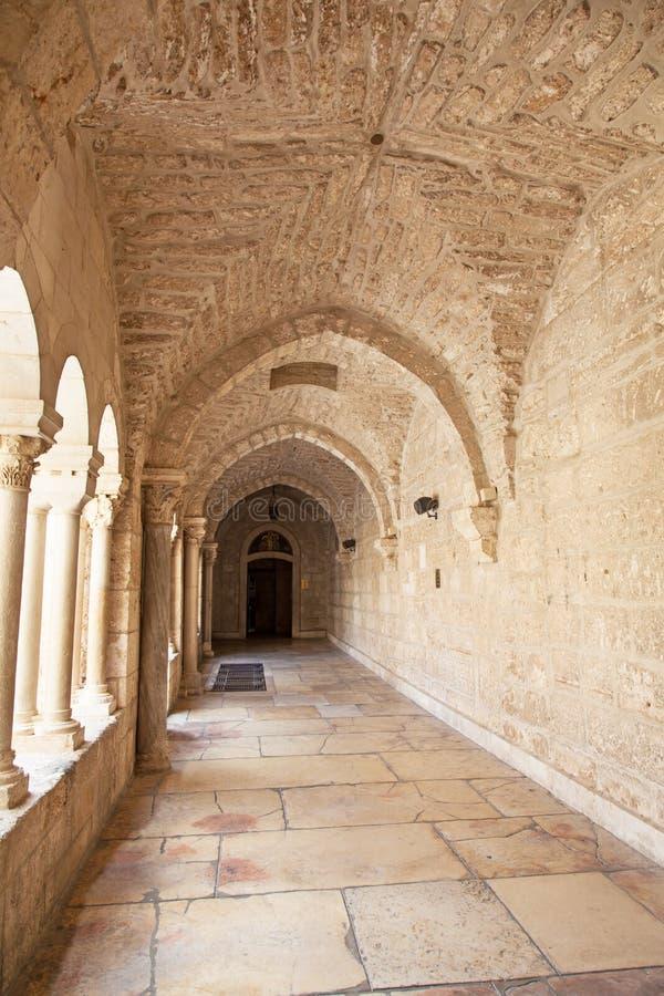 δύση nativity πορτών εκκλησιών της Βηθλεέμ τραπεζών στοκ φωτογραφία με δικαίωμα ελεύθερης χρήσης