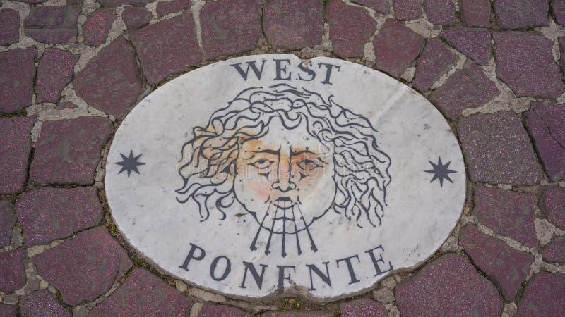 Δύση Ponente στοκ εικόνες