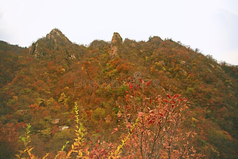 Δύση Taishan, Ruyang στοκ φωτογραφία
