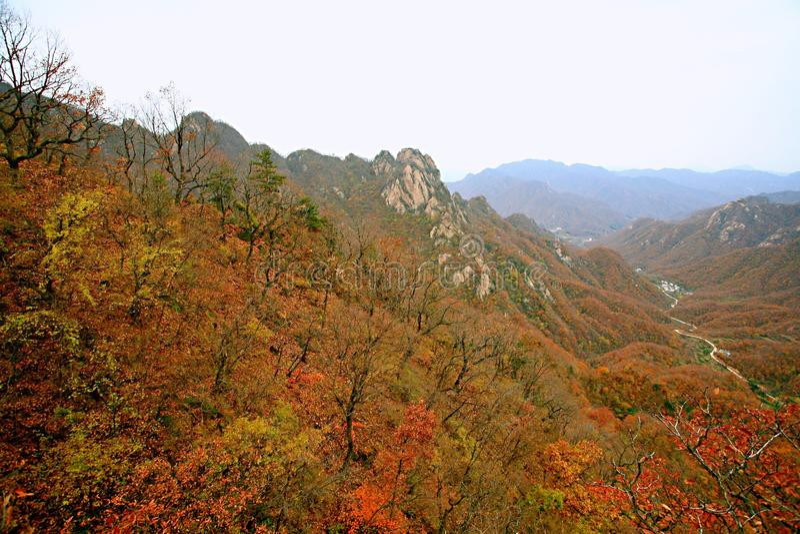 Δύση Taishan, Ruyang στοκ εικόνα με δικαίωμα ελεύθερης χρήσης