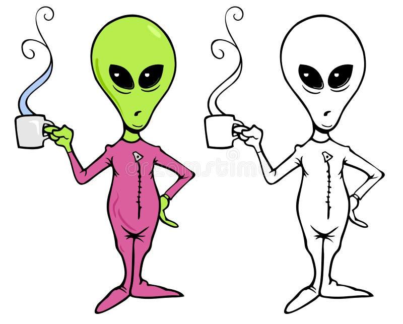 Δύσθυμος εξωγήινος απεικόνιση αποθεμάτων