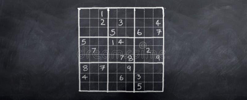 δύσκολο sudoku απεικόνιση αποθεμάτων