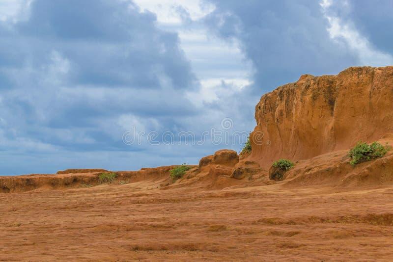 Δύσκολο τοπίο Pipa Βραζιλία στοκ εικόνες