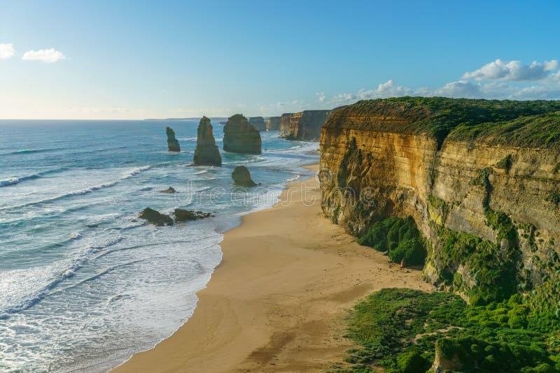 Δώδεκα απόστολοι στο ηλιοβασίλεμα, μεγάλος ωκεάνιος δρόμος στο λιμένα Campbell, Αυστραλία 3 στοκ φωτογραφίες με δικαίωμα ελεύθερης χρήσης