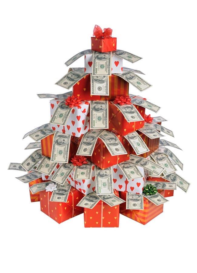 δώρα έλατου Χριστουγέννω στοκ φωτογραφίες με δικαίωμα ελεύθερης χρήσης