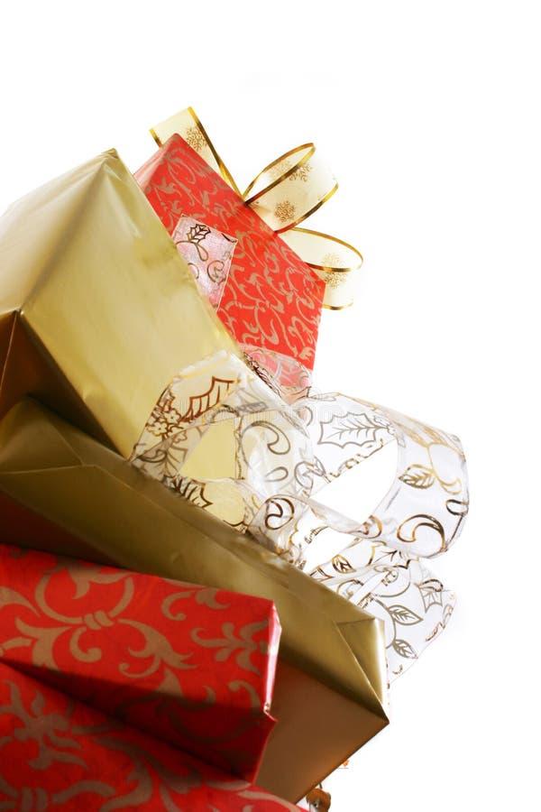 δώρα κιβωτίων στοκ εικόνα με δικαίωμα ελεύθερης χρήσης