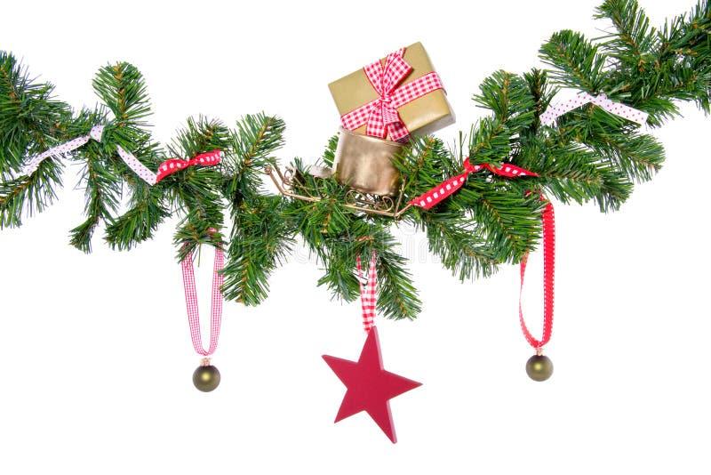 δώρα Χριστουγέννων σφαιρών στοκ φωτογραφία