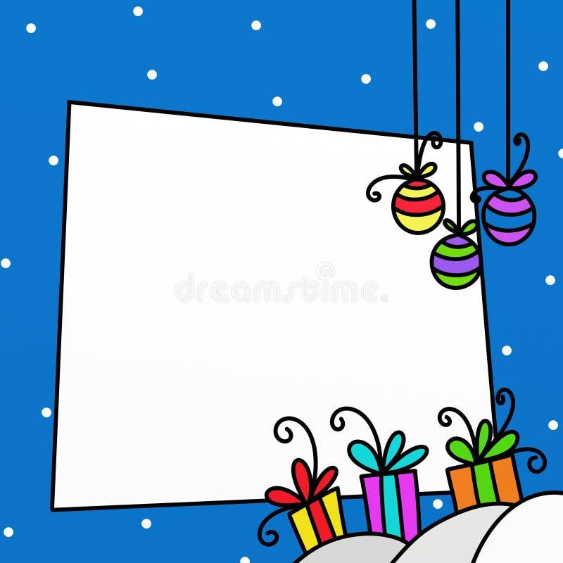δώρα Χριστουγέννων ελεύθερη απεικόνιση δικαιώματος