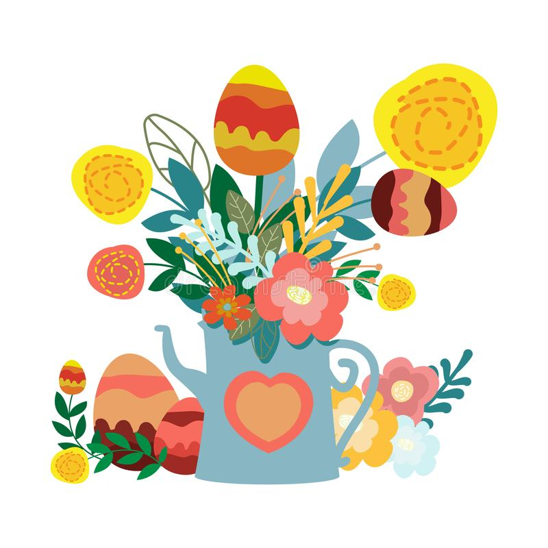 Δώρο αυγών Πάσχας διανυσματική απεικόνιση