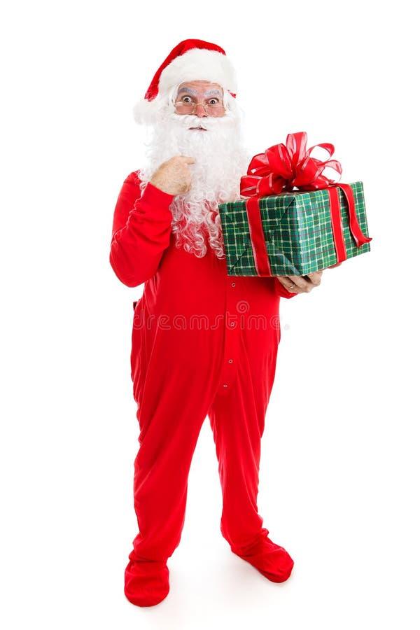 Δώρο για Άγιο Βασίλη στοκ εικόνες με δικαίωμα ελεύθερης χρήσης