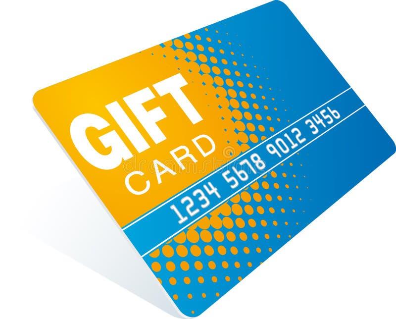 δώρο καρτών διανυσματική απεικόνιση