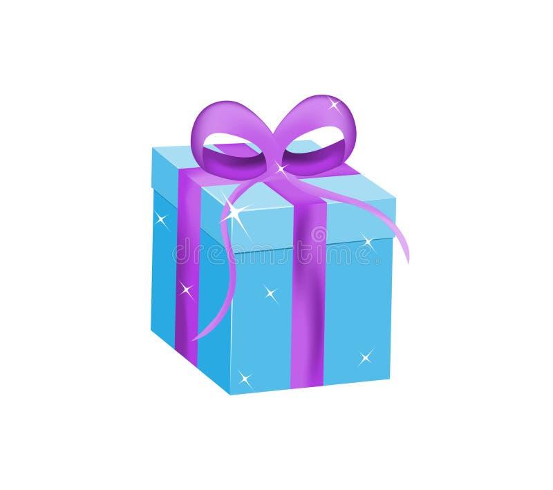 δώρο κιβωτίων που απομονώ&n διανυσματική απεικόνιση