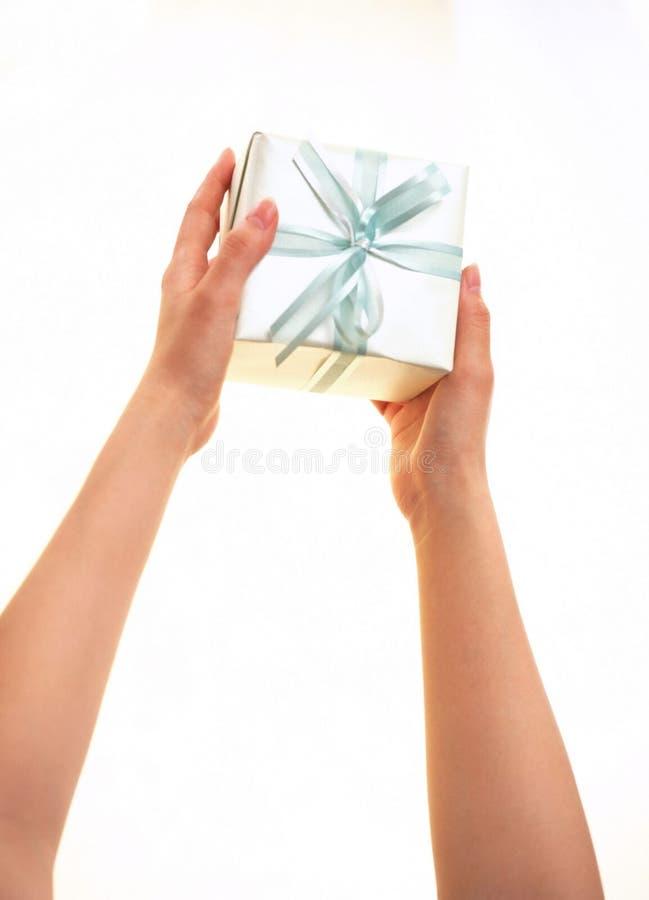 Download δώρο κιβωτίων στοκ εικόνα. εικόνα από κορδέλλα, δώρο, τύλιγμα - 111405