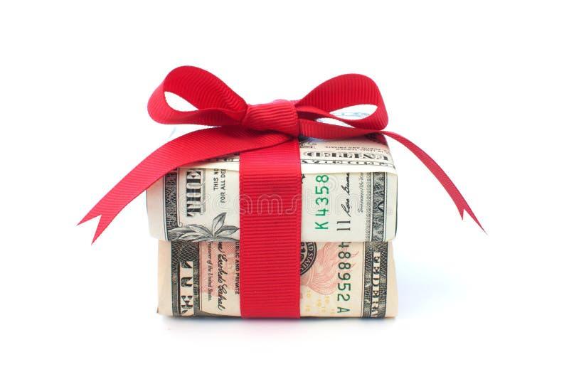 Δώρο χρημάτων στοκ φωτογραφίες με δικαίωμα ελεύθερης χρήσης