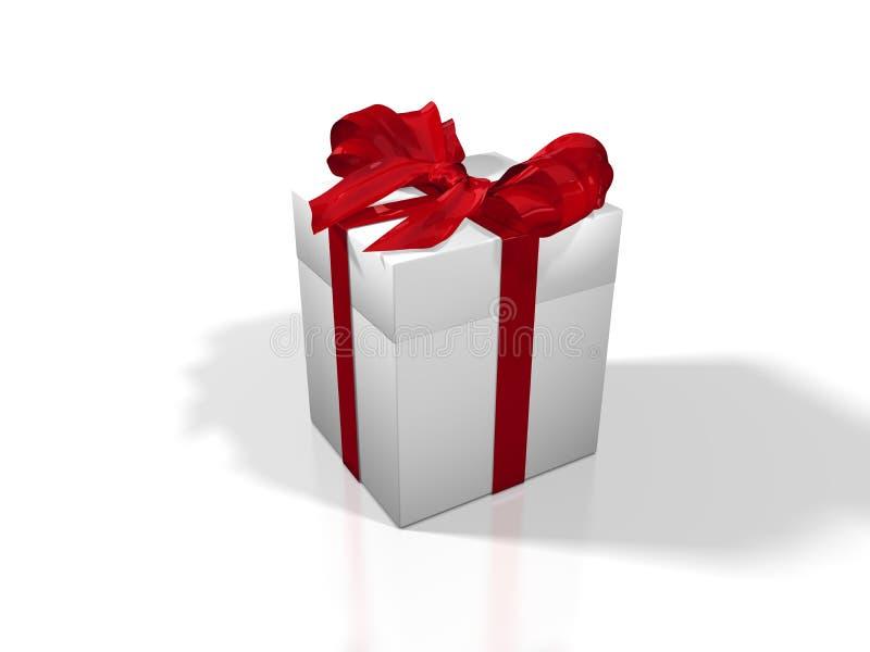 δώρο Χριστουγέννων εορτ&alph διανυσματική απεικόνιση