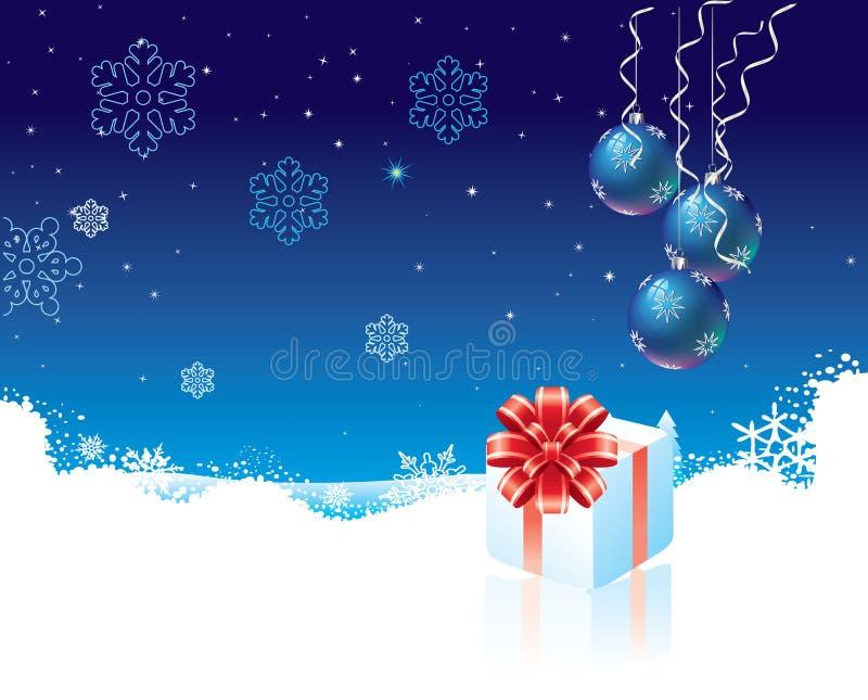 Download δώρο Χριστουγέννων κιβωτί& διανυσματική απεικόνιση. εικονογραφία από εύθυμος - 17050832