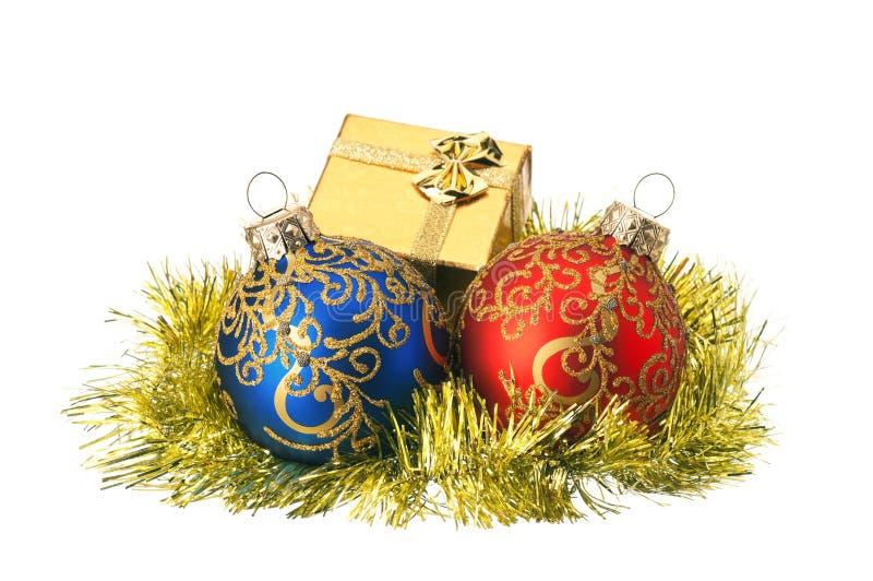 δώρο Χριστουγέννων κιβωτί& στοκ εικόνες