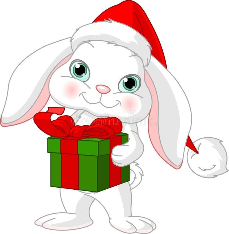 δώρο Χριστουγέννων λίγο κ διανυσματική απεικόνιση