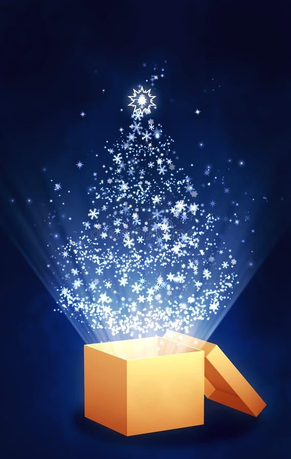 δώρο Χριστουγέννων διανυσματική απεικόνιση